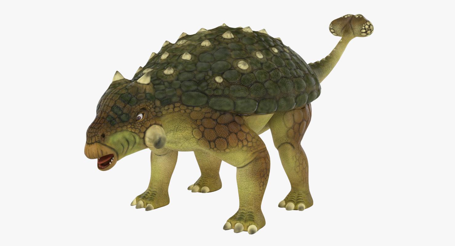 3ds ankylosaurus
