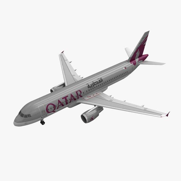 max airbus a320 qatar airways