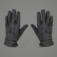 Leather Woman Gloves