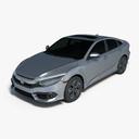 Civic 3D models