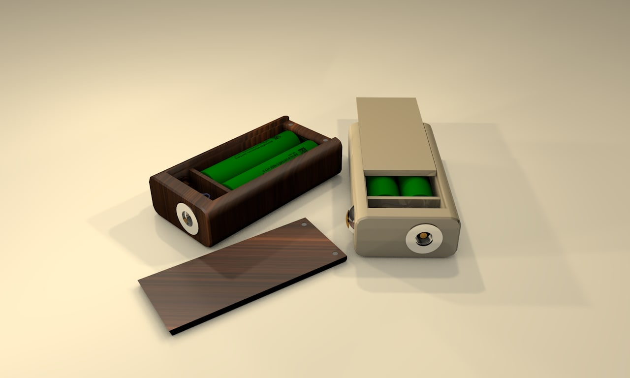 3d model of box mod
