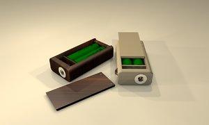 3d model of box mod
