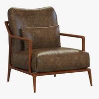 3ds philipp selva indigo armchair