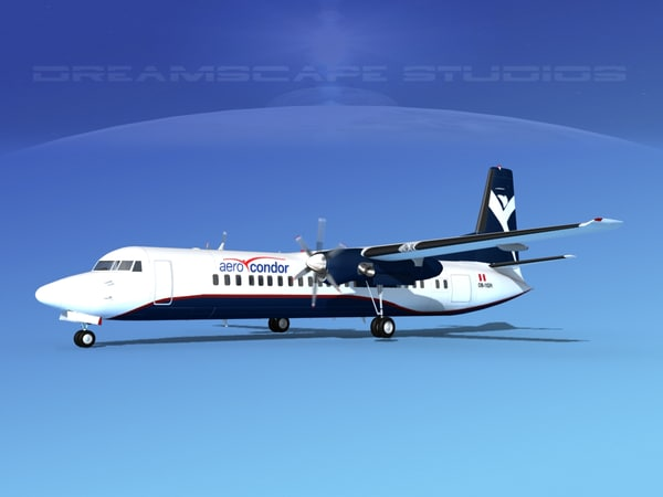 fokker aircraft max
