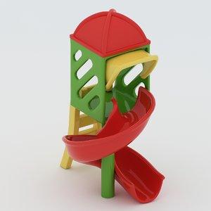 3d playground toy