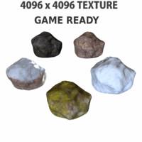 3d rock ready 4k