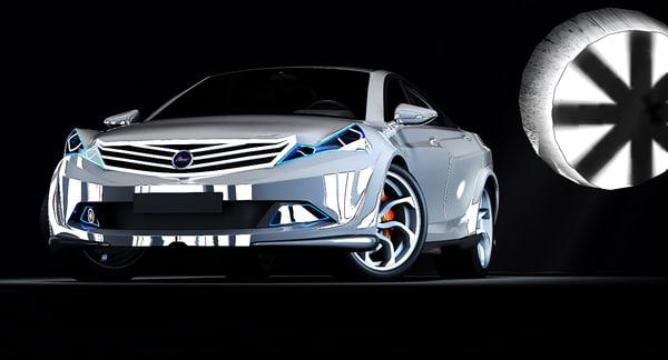 free azerant concept 3d model