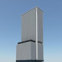 new york skyscraper 3d model