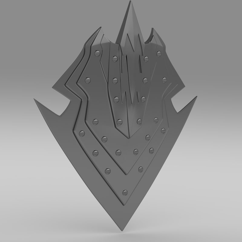 shield orcish orc 3d 3ds