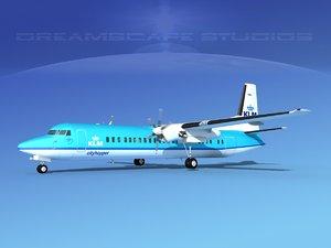 fokker aircraft 3d model