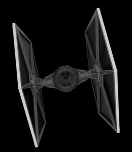 x tie fighter