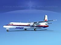 fokker aircraft 3d obj