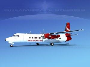 3d fokker aircraft