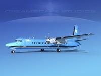 3d fokker aircraft model