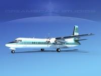 3d 3ds fokker aircraft