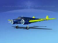propellers lockheed 3d model