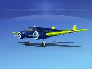 propellers lockheed 3d model