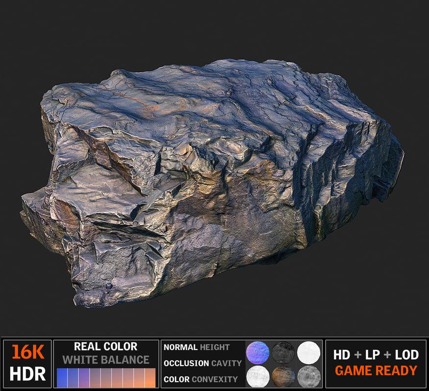 3d model scanned 8k