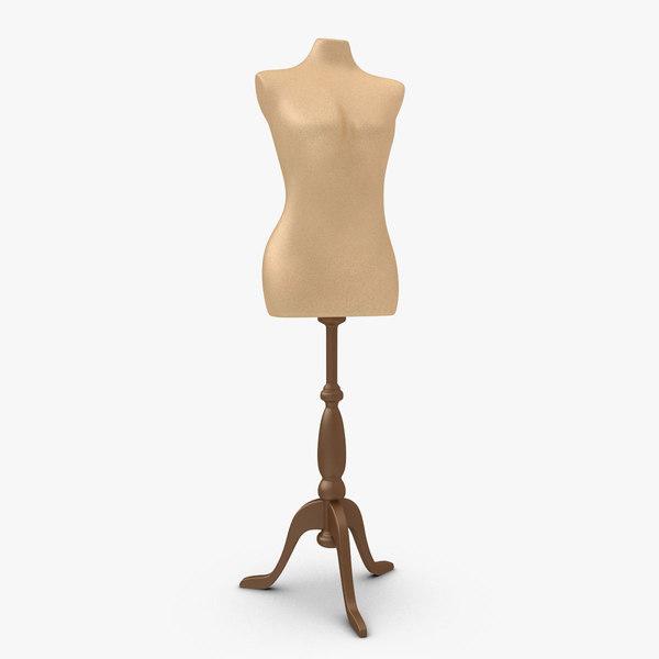 3d female mannequin 2