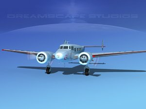 propellers lockheed l10 electra 3ds