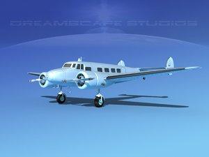 3d propellers lockheed l10 electra