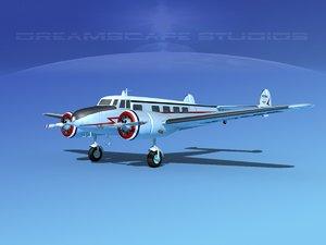 propellers lockheed l10 electra 3d max