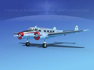 3d propellers lockheed l10 electra model