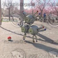 pokemon magneton 3d model