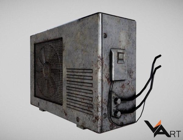 free conditioner 3d model