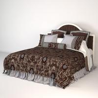 bed savio firmino 3d model