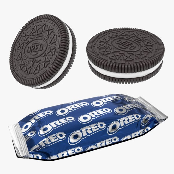 max realistic oreo cookie snack