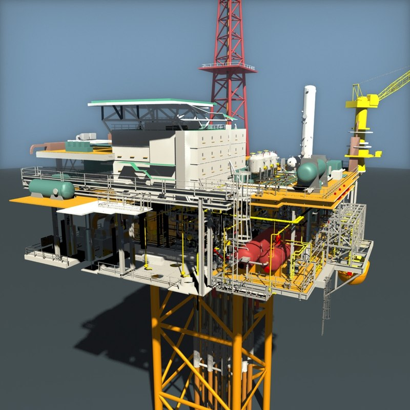 x oil platform