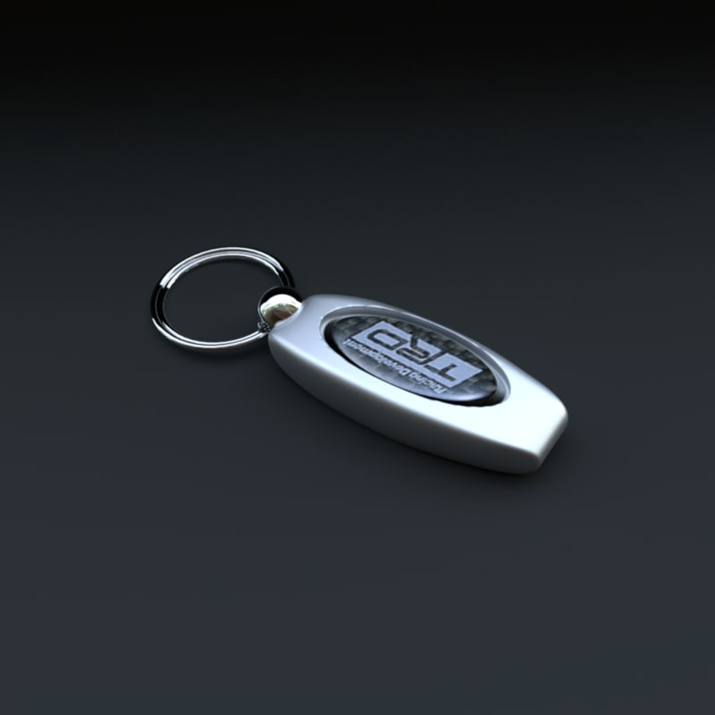 3d medal key