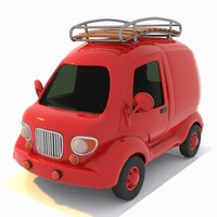 travel toon car 3d 3ds