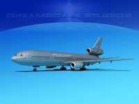 kc-10 mcdonnell douglas netherlands 3d model