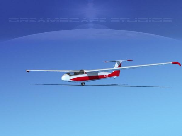 letov sailplane 3ds