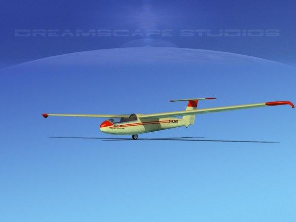 letov sailplane 3d model