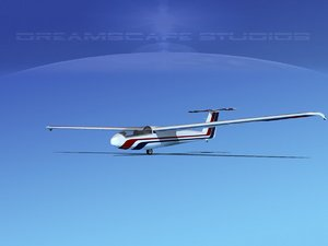 letov sailplane 3d model
