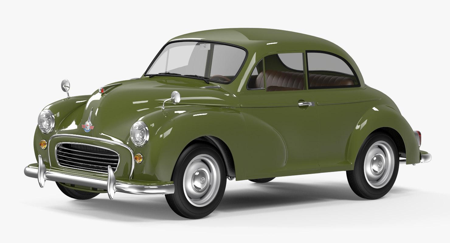 vintage car general obj