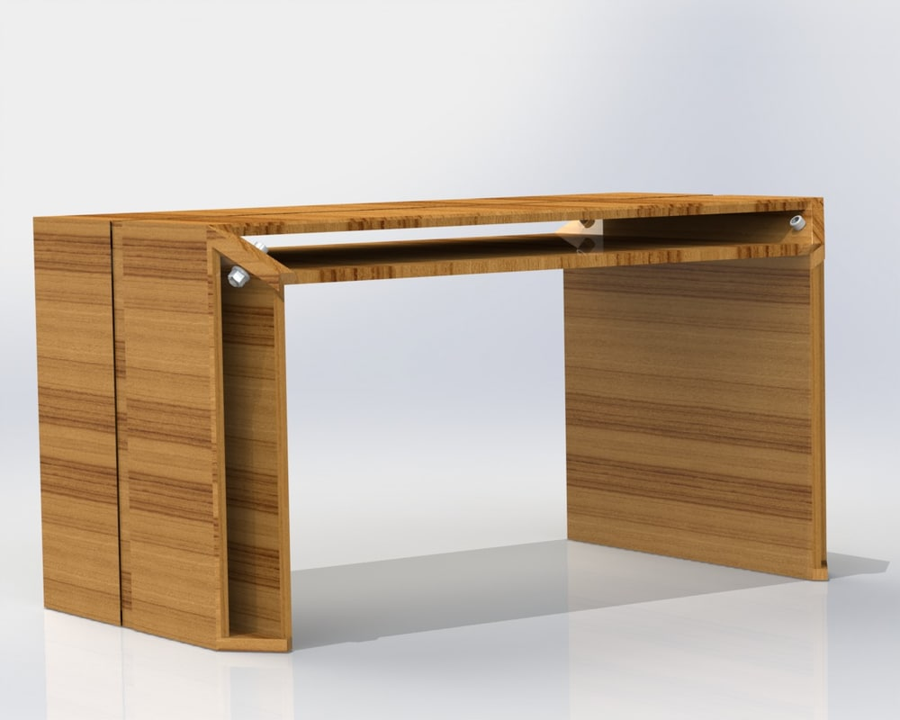 3d solidworks futuristic table