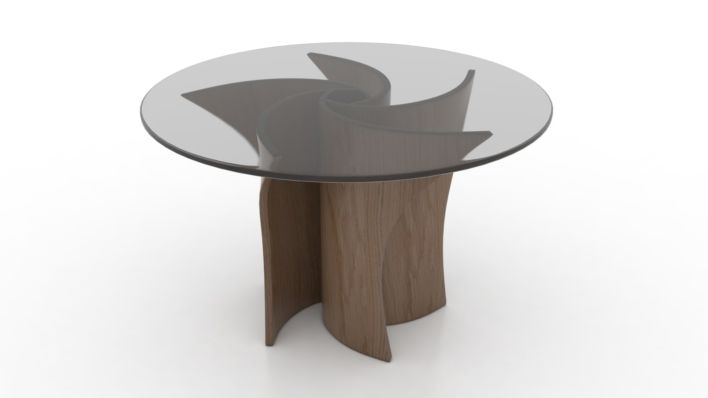 3d model of macmaster spiral table