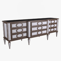 montmartre 85-0011 cabinets 3d model