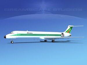 dxf md-87 md-80s jet