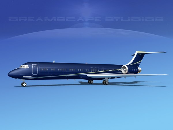 md-87 md-80s jet dwg
