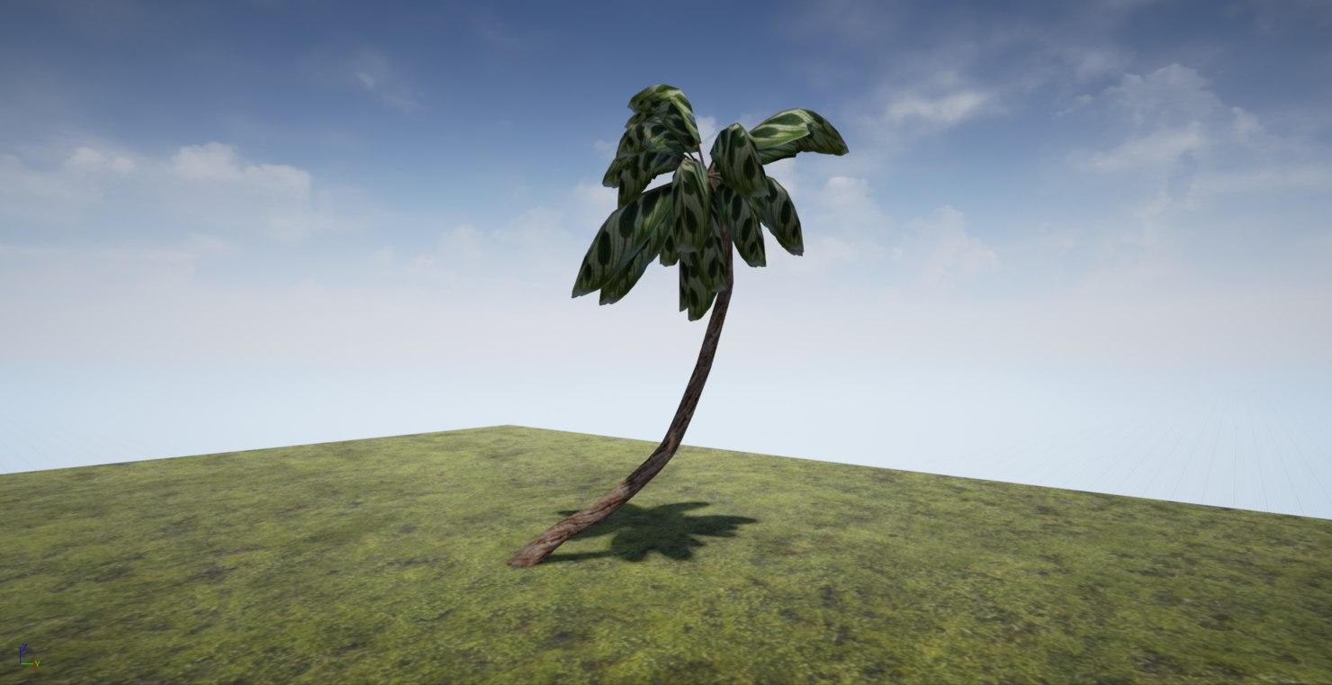 space palm 3d model