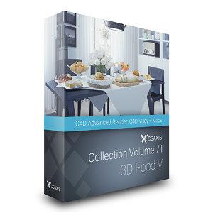 c4d volume 71 food v