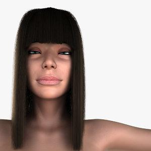3d model nude girl