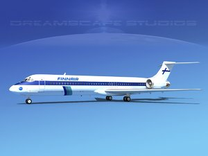 3d md-87 md-80s jet
