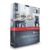CGAxis Models Volume 71 - 3D Food V VRAY