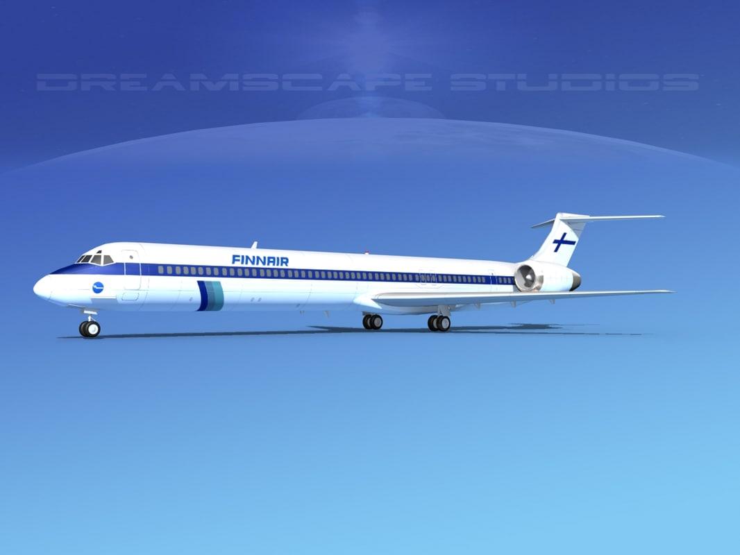 obj md-90 jet commercial